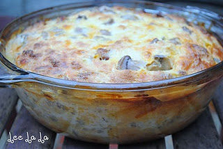 My momma's breakfast casserole {Recipe}