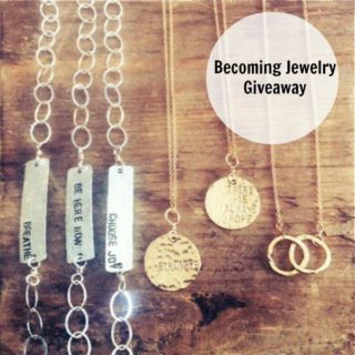 GIVEAWAY: $50 shop credit to Becoming Jewelry