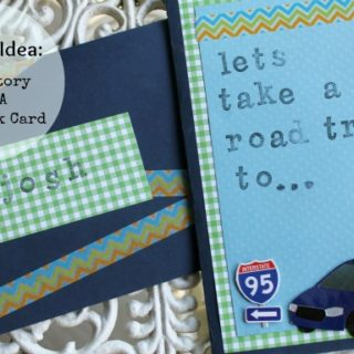 DIY Gift Idea: Scrapbook Card