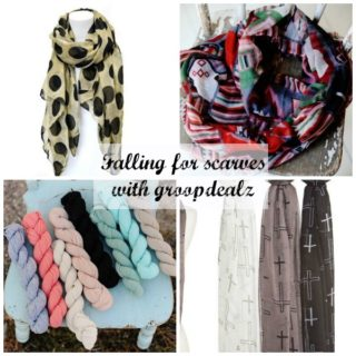 Falling for Scarves with Groopdealz