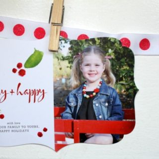 Our holiday cards by Sweet Street Gals