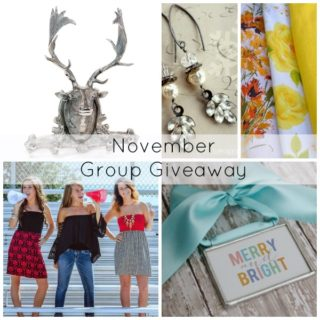 November Group Giveaway {$250 value}