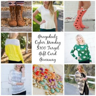 $100 Target Gift Card Giveaway from Groopdealz