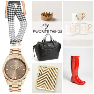 My Favorite Things {a gift guide}