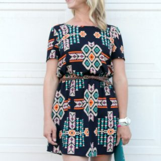 Aztec Dress & Booties