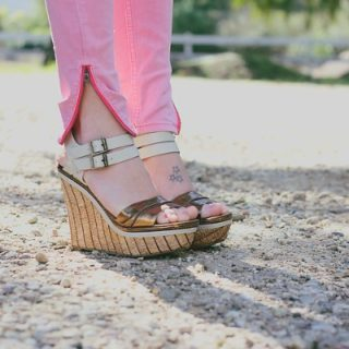 Style: Pink & Tan