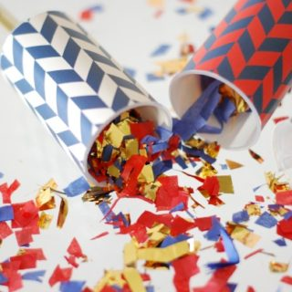 4th of July Confetti Poppers & Meet our DIY contributor Laura Giuliani