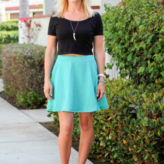 Mint & Crop Tops